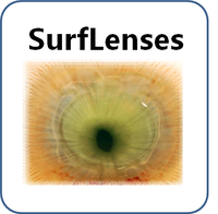 Surface modifications to control drug release from therapeutic ophthalmic lenses - SurfLenses